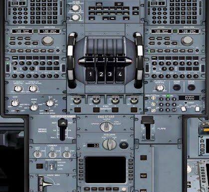 Airbus Deluxe FSX - npsimpanel